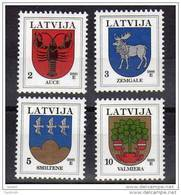 LATVIA 2005 Arms Definitives With Year Date 2005 MNH / **. - Latvia