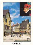 03 CUSSET / PASSAGE DE LOUIS XI EN 1440 ALORS QU'IL ETAIT DAUPHIN / PORTRAIT LOUIS XI - Autres Communes