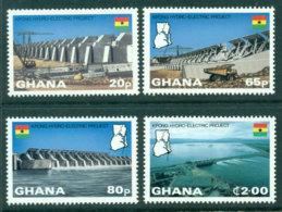 Ghana 1982 Kpong Hydro-Electric Project MUH Lot27700 - Ghana (1957-...)