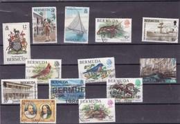 BERMUDES : Y&T : Lot De 13 Timbres Oblitérés - Bermudes