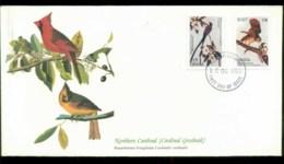 Ghana 1985 Audubon Birds,  Franlkin Mint FDC Lot79660 - Ghana (1957-...)