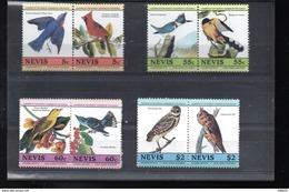 NEVIS 271/278** SUR DES OISEAUX D APRES AUDUBON - St.Kitts-et-Nevis ( 1983-...)
