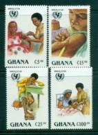 Ghana 1988 UNICEF Immunisation MUH - Ghana (1957-...)