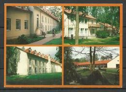 Deutschland Ansichtskarte Brandenburg Klinik 1994 Nach Estland Gesendet, Mit Briefmarke - Brandenburg