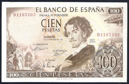 Spain - 100 Pesetas 1965 - P-150 - [ 3] 1936-1975 : Regency Of Franco