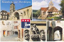 19 BEAULIEU SUR DORDOGNE - MULTIVUES - BLASON - France