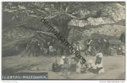 Mazedonien - Feiertag - Bei Strumica - Foto-AK Ca. 1915 - Mazedonien