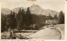 SWITZERLAND -  Villars-sur-Oilion La Clairiere - Institut De Jennes Garcons - Arveyes Villars - La Tennis - VD Vaud