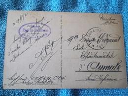Carte Postale D'un Sergent 23ème Régiment De Tirailleurs 6ème Compagnie 1921 - 1914-18