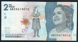 Colombia - 2000 Pesos 2015 - P-458 - Colombia