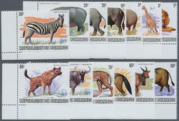 Thematik: WWF: 1983, BURUNDI: African Wildlife Complete Set Of 13 From 2fr. To 85fr. (Lion, Giraffe, - W.W.F.