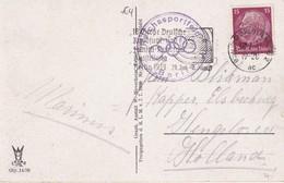 ALLEMAGNE 1939 CARTE POSTALE DE BERLIN - Storia Postale