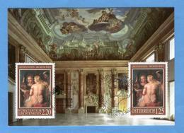 LIECHTENSTEIN - Museo Liechtenstein A Vienna, Maximum Karte 2005 - Liechtenstein