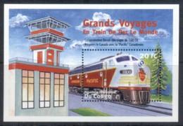 Congo 2010c. Trains MS MUH - Congo - Brazzaville