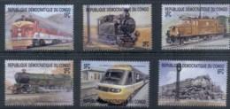 Congo 2010c. Trains MUH - Congo - Brazzaville