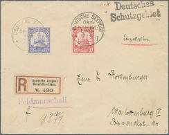 Deutsche Schiffspost Im Ausland - Seepost: 1907, DSP Ost-Afrika-Linie 7.8.07. R-Brief Mit Viol. L1-H - Deutschland