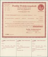 Deutsche Schiffspost Im Ausland - Seepost: HAPAG-OZEANREEDEREI 1916, Ungebrauchter Vollständiger Sch - Deutschland