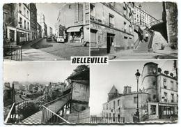 PARIS - BELLEVILLE - Multivues  - Voir Scan - Distrito: 20