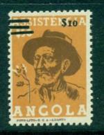 Angola 1957-8 Postal Tax Opt Surcharge ERROR 3 Bars  MLH Lot31178 - Angola