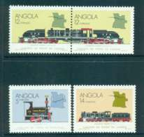 Angola 1990 Trains MUH Lot51891 - Angola