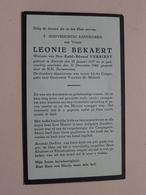 DP Leonie BEKAERT ( Emiel VERRIEST ) Kortrijk 28 Jan 1857 - 31 Dec 1944 ( Zie Foto's ) ! - Overlijden