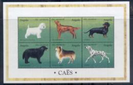 Angola 1998 Dogs MS MUH - Angola