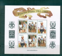 Angola 1998 Princess Diana In Memoriam MS MUH Lot81996 - Angola
