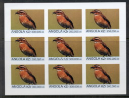 Angola 2000 Birds (Rebel Issue) IMPERF MS MUH - Angola