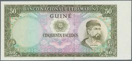 Portuguese Guinea  / Portugiesisch Guinea: Set Of 4 Banknote Proofs 50, 100 And 500 Escudos ND Proof - Guinea