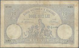 Romania / Rumänien: Banca Naţională A României 20 Lei 1907, P.16, Highly Rare Note, Still Intact Wit - Romania