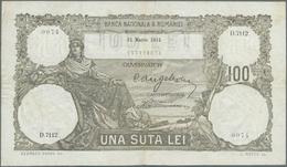 Romania / Rumänien: Banca Naţională A României Pair Of 100 Lei 1931 And 100 Lei 1932, Both P.33, Fir - Romania