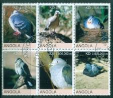 Angola 2000 Birds, Pigeon (Rebel Issue) CTO - Angola