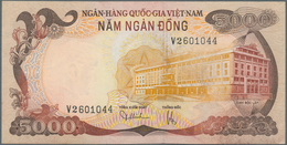 South Vietnam / Süd Vietnam: 5000 Dong ND(1975), P.35 In XF+/aUNC - Vietnam