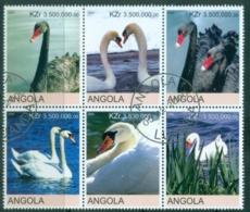 Angola 2000 Birds, Swans (Rebel Issue) CTO - Angola