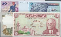 Tunisia / Tunisien: Set Of 15 Banknotes Containing 5 Dinars 1993, 3x 10 Dinars 1994, 2x 20 Dinars 19 - Tunisia