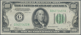 United States Of America: 100 Dollars 1934 P. 433 With Only Light Handling In Paper In Condition: XF - United States Of America