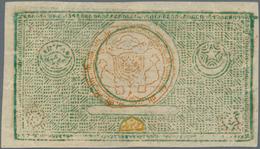 Uzbekistan / Usbekistan: Bukhara Emirate Very Rare Set With 100 And 200 Tengas AH1338 (1919) Remaind - Uzbekistan