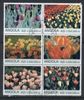 Angola 2000 Flowers, Tulips Blk6 (rebel Issue) CTO - Angola