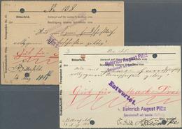 Deutschland - Notgeld - Sachsen-Anhalt: Bitterfeld, Heinrich August Pilz GmbH, 2 Mark, 14.8.1914, We - Lokale Ausgaben