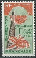 "Polynésie Aerien YT 16 (PA) "" Liaison Radio Avec Métropole "" 1966 Neuf** - Airmail"