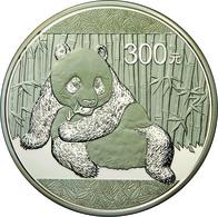 China - Volksrepublik: 300 Yuan 2015, Silber Panda, 1 Kg 999/1000 Silber. Inklusive Zertifikat, Etui - China