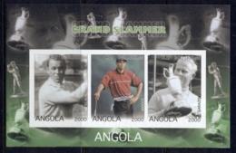 Angola 2000 Golf Grand Slam IMPERF MS - Angola