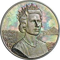Medaillen Alle Welt: Großbritannien, Elisabeth II. Seit 1952: Silbermedaille 1968, Stempel Von F. Or - Tokens & Medals