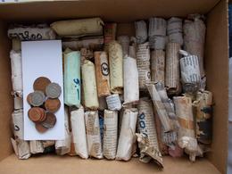 Mauritius: Eine Kiste Mit Ca. 9 Kg An Münzen. Es Handelt Sich Um Kleinmünzen Aus Den 70er Jahren Rol - Mauritius
