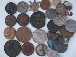 Medaillen Alle Welt: Ein Lot Bestehend Von über 30 Medaillen überwiegend Aus Frankreich, Dabei: Groß - Tokens & Medals