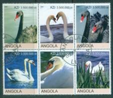 Angola 2000 Swans (Rebel Issue) CTO - Angola