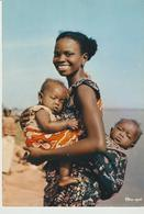 453-Folklore-Usi E Costumi-Bambini-Madri-Colori Africani - Afrika