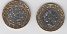 Great Britain UK £2 Two Pound Coin (Magna Carta) - Circulated - 1971-… : Monete Decimali