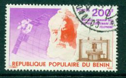 Benin 1976 Centenary Of Telephone FU Lot38544 - Benin - Dahomey (1960-...)