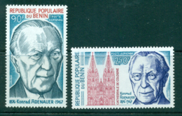 Benin 1976 Konrad Adenauer MUH Lot38552 - Benin - Dahomey (1960-...)